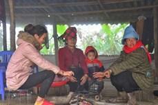 越南北部山区维持严寒天气