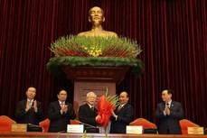 阮富仲同志连任越共中央委员会总书记