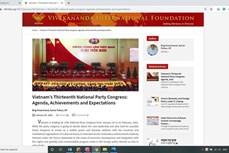 印度专家强调越南在全球论坛上起到重要作用