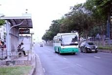 胡志明市建议使用符合该市基础设施特点的公共小巴