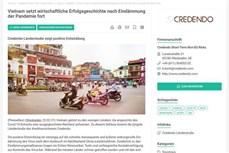 欧洲信用保险公司:越南续写经济发展的成功故事