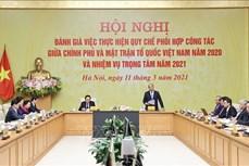 阮春福总理:政府和祖国阵线协调机制运行良好