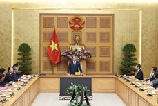 政府总理阮春福:政府一直与企业并肩同行