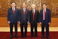 外国领导人致电或致函祝贺越南新一届领导人