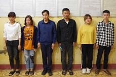高平省对一起组织非法出境案进行起诉 坚江省发现4名非法入境人员