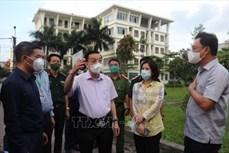 河内市人民委员会主席朱玉英:充分利用黄金48个小时来控制疫情