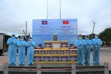 越南向柬埔寨和印度捐赠医用防护物资和设备