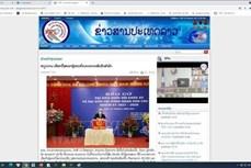 国会和人民议会换届选举:老挝媒体纷纷报道越南成功举行换届选举