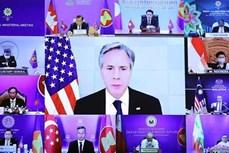 东盟-美国外长会:优先应对疫情 援助促进可持续复苏