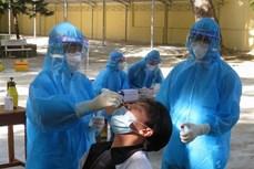 政府副总理武德儋:庆和和富安两省要加快检测速度 彻底遏制疫情