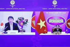 东盟-日本外长会议以线上形式举行