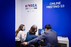 越韩两国企业加强贸易交往