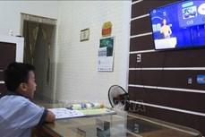 40个省市开展在线与电视教学模式