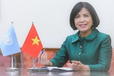 越南代表在联合国人权理事会第48届会议积极发言