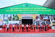 Hà Nội tổ chức hội chợ trưng bày, quảng bá và kết nối giao thương sản phẩm OCOP
