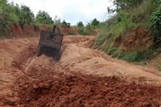 Gia Lai sớm gỡ nút thắt giao thông cho làng Đê Kôn