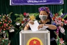 Cử tri các dân tộc tỉnh Yên Bái đặt trọn niềm tin vào lá phiếu