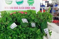 Rau quả sạch Chúc Sơn - sản phẩm OCOP của huyện Chương Mỹ