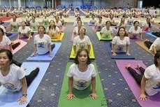 2020年第六届国际瑜伽日活动在富安省举行