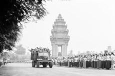 柬埔寨领导永远铭记越南志愿军的牺牲