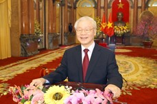 越共中央总书记、国家主席阮富仲:发挥民族力量 凝聚向上意志