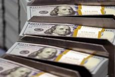 今日越盾对美元汇率中间价小幅下降