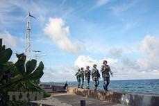 在战略、边界和海洋岛屿地区巩固和加强国防安全