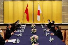 日本对中国近期在东海采取的行为深表担忧
