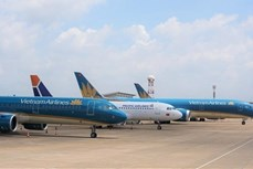 越南多架飞机因受疫情冲击正处于停飞状态