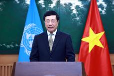 范平明副总理在联合国亚太经社会第77届年会上通过视频发表讲话