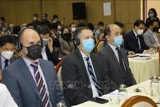 越南政府宗教委员会与在越参加宗教活动的外国人举行见面会