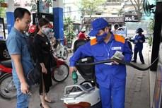 越南汽油零售价每公升上调近200越盾