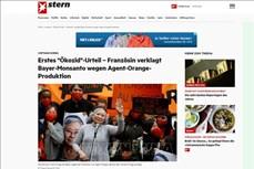 德国媒体就陈素娥女士历史性诉讼案进行报道