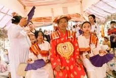 越南占族婆罗门教修行仪式