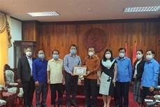 新冠肺炎疫情:在老越南人社群同老挝政府携手共同抗击疫情