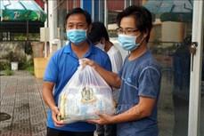 响应越共中央总书记阮富仲的号召:为在芹苴市学习的柬埔寨大学生接力