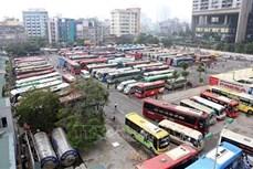 越南15个地方批准试行恢复营省际客运班车运营