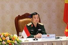 第二届越南与印度尼西亚国防政策对话以视频方式举行