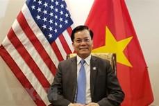 推动越南与美国全面伙伴关系不断向前发展