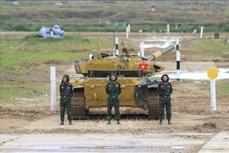 越南坦克队进入2020年国际军事比赛半决赛