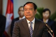 AMM 53:柬埔寨重申对东海问题的立场