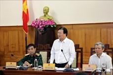 政府副总理郑廷勇:需主动采取各种方案应对自然灾害