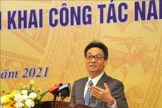 武德儋副总理:优化科技领域机制大力推进改革创新