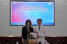 胡志明市大水镬医院第三次荣获六西格玛绿带证书