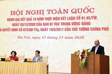 政府总理阮春福:力争建设繁荣农业、富农和现代农村