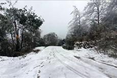 老街省出现雨雪天气