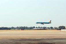 新山一和内排国际机场跑道和滑行道升级改造项目一期工程投入运行