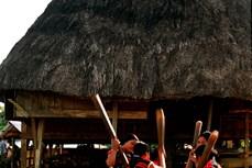 西原文化中舂米的声音