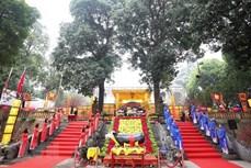 河内市在升龙皇城恢复宫廷礼仪