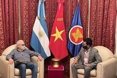 进一步深化越南与阿根廷的全面伙伴关系